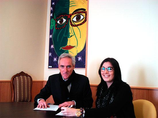 Firmado acuerdo comercial con Ulloa Ópticos